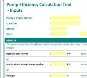 pump efficiency