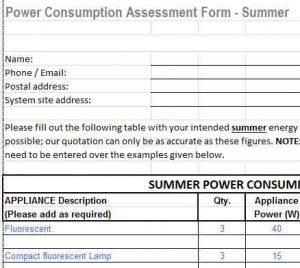 summer winter power consumption